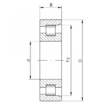 ISO NF1928 cylindrical roller bearings