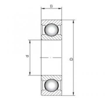ISO 6218 deep groove ball bearings