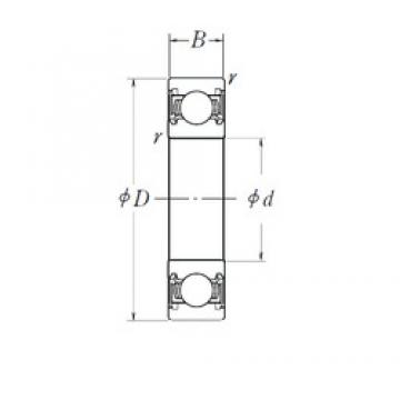 NSK B17-123T1X deep groove ball bearings